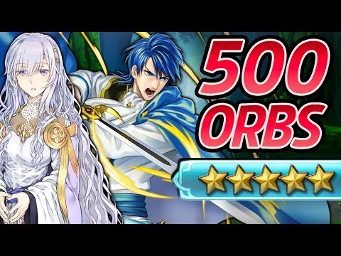 Fire Emblem Heroes - 500+ Orbs Summons: SIGURD & DEIRDRE! (World of Holy War)