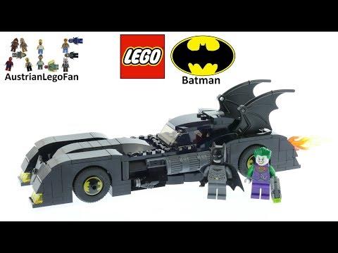 Lego Batman 76119 Batmobile Pursuit of The Joker Speed Build