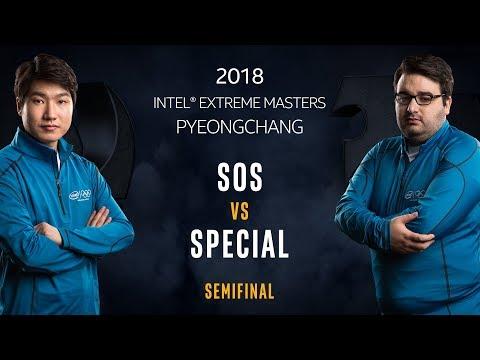 StarCraft II - sOs [P] vs. SpeCial [T] - Semifinal - IEM PyeongChang