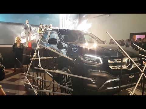 Mercedes-Benz třídy X a Libor Podmol: slavnostní odhalení
