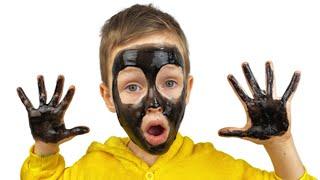 Мое лицо и руки черные - Детские песни от Alex and Nastya