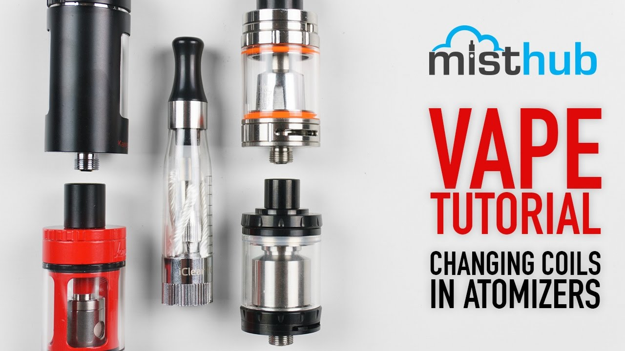 Vape Tutorial: How To Change Coils On Vape Tanks & Clearomizers