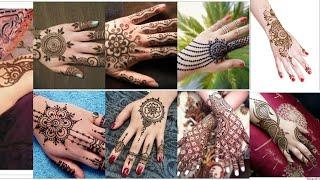 New year Mehndi design latest indian arabic and pakistani