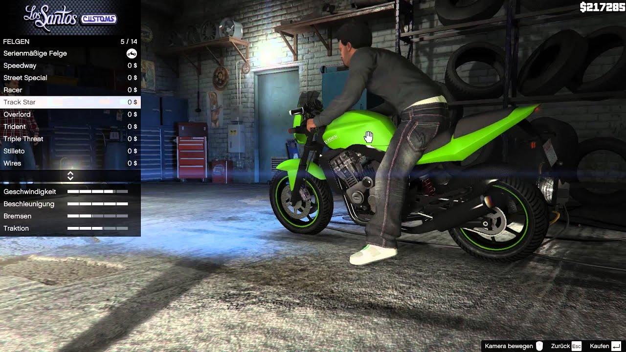 084 let 39 s play gta 5 pc motorrad tuning youtube. Black Bedroom Furniture Sets. Home Design Ideas