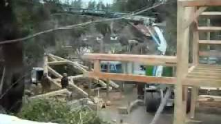 Timber Frame Construction Time-lapse Videography