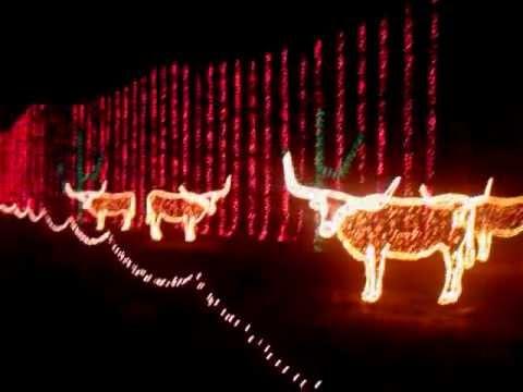 Christmas Light Show 2011 Santa's Wonderland Full Tour College ...