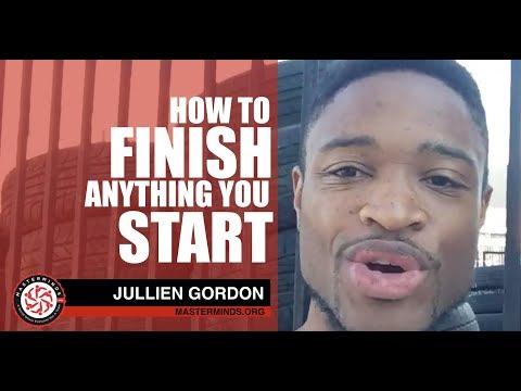 Finish Strong: The Secret To Finishing Anything You Start