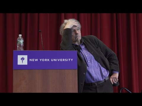 "Jacques Rancière ""Anachronisms"" Keynote Address at NYU"