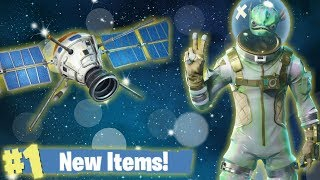 Fortnite Battle Royale, New Alien Fish Skin & Satellite Glider! Late Night Live Stream!