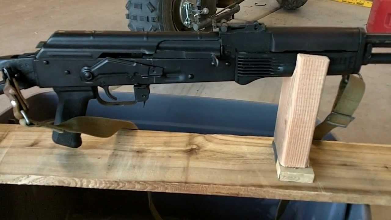 DIY AK74 AK47 RIFLE REST  100 RIFLE REST ULTIMATE