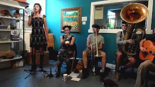 "Tuba Skinny - ""Delta Bound"" --""Live at the Hive"" 6-24-2011  - MORE at DIGITALALEXA channel"