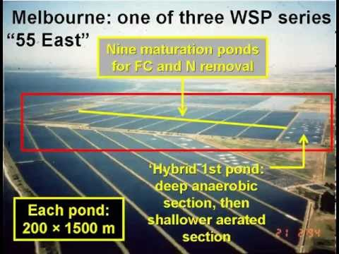 Waste stabilization pond design 1 of 7 youtube for Design of stabilisation pond