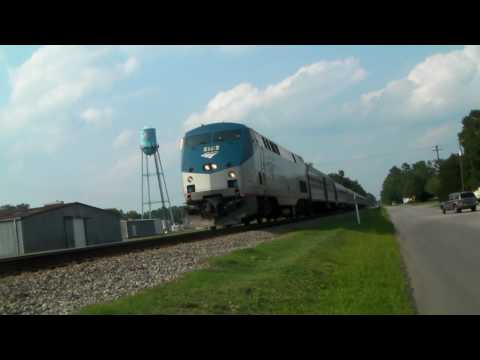 Amtrak 179 in Dillion SC with great K5LA