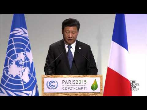 Xi Jinping promises big action by China for fighting climate change