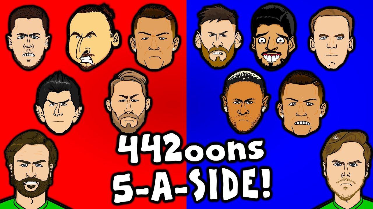 442oons-5-a-side-feat-ronaldo-messi-suarez-neymar-stobbart-and-dunscombe