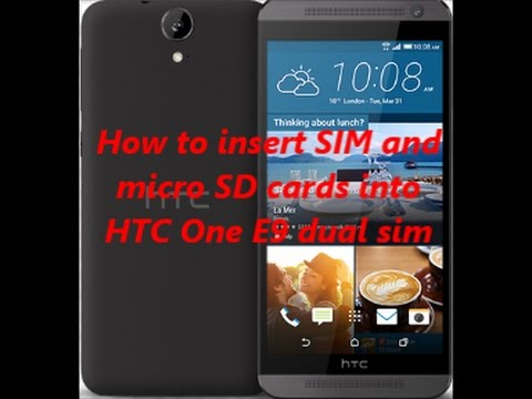 how to insert a sim card into an iphone how to insert sim and micro sd cards into htc one e9 dual 21377