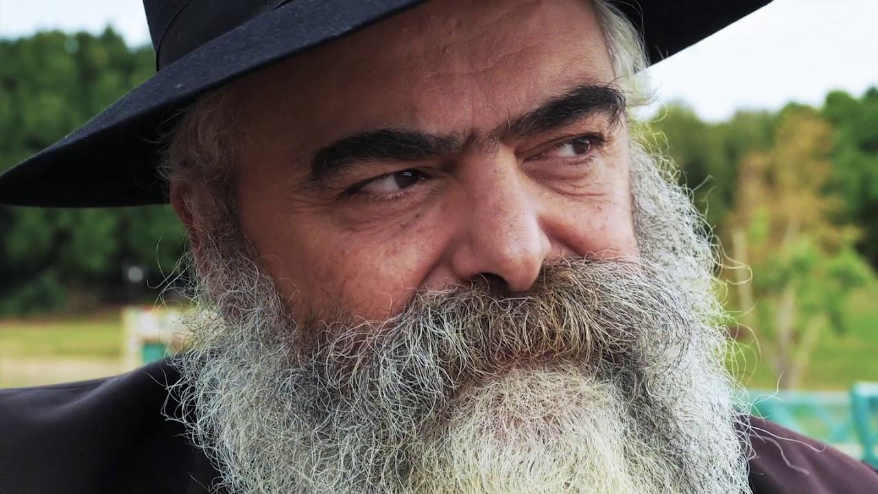 Portrait du peintre Rav Yaacov Abergel, par Adrien Cohen