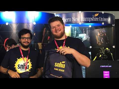SNHU Game Design Program Visits PAX East