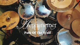 Aephanemer - Path Of The Wolf - Drum Cover By Sacha Roger