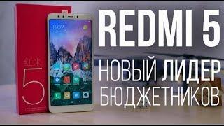 Xiaomi Redmi 5 - ЛИДЕР БЮДЖЕТНИКОВ!