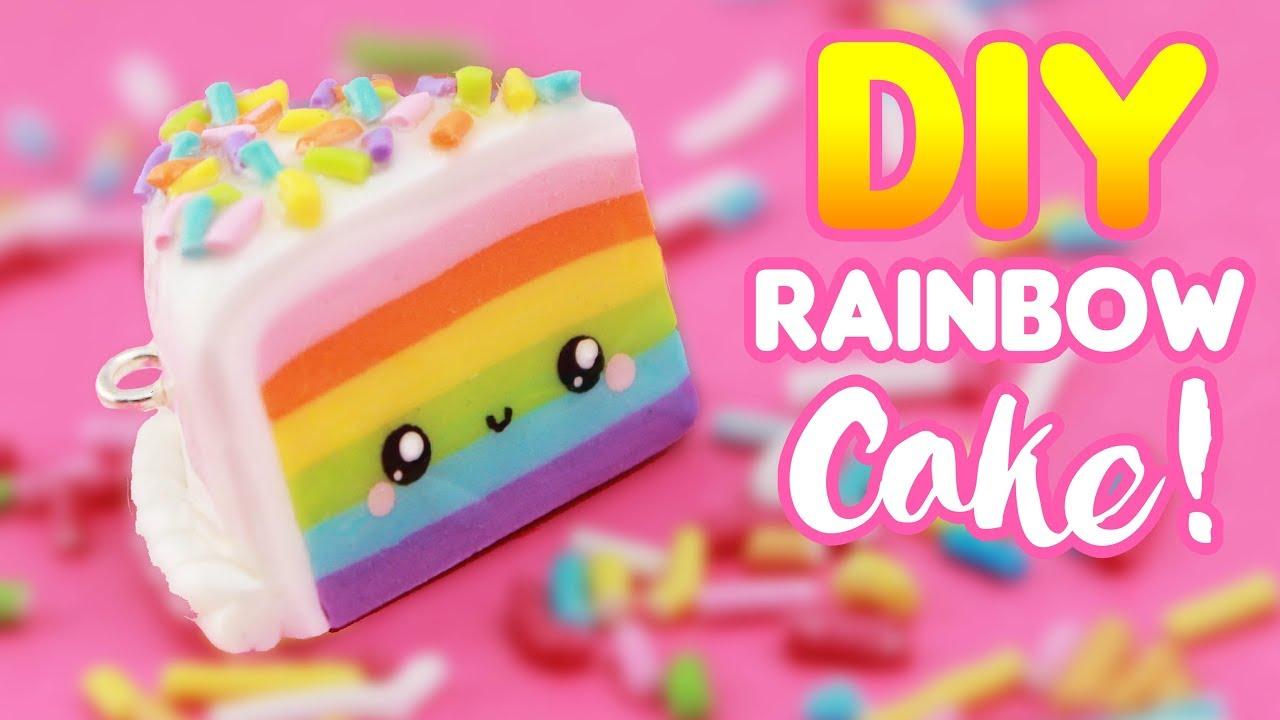 Rainbow Cake Charm
