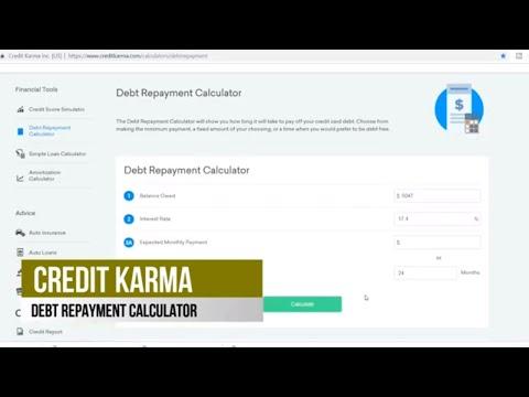 credit-card-debt-calculator-2019-with-credit-karma,-minimum-payments,-interest