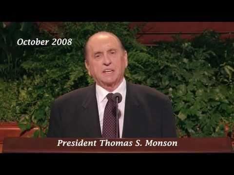 Prophecy of LDS (Mormon) Prophet Thomas S. Monson