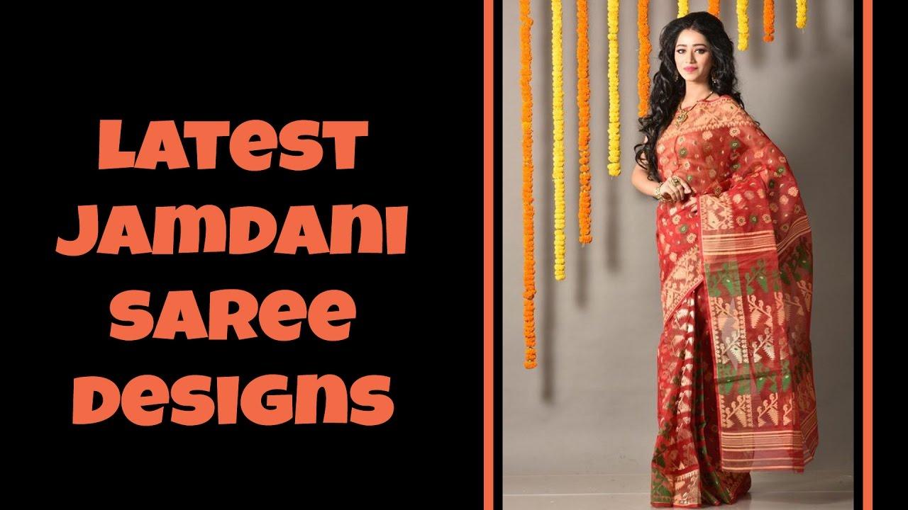 3a959b5d6e Latest Jamdani Saree Designs by Latest Designer Saree and Dresses