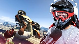 FUNNY GTA 5 STUNT CHALLENGES!  - (GTA 5 Stunts & Fails)