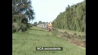 Tren de NCA entrando a General Deheza