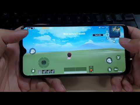 Test Game PUBG Mobile on Vivo Y12 Max Settings