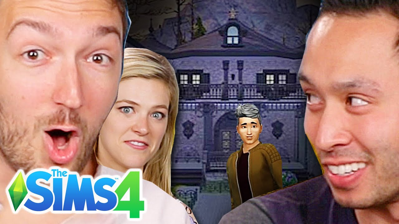 Ryan & Shane Choose A Fan's Haunted House • The Sims 4