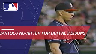 Bartolo Colon tosses a no-hitter for the Bisons