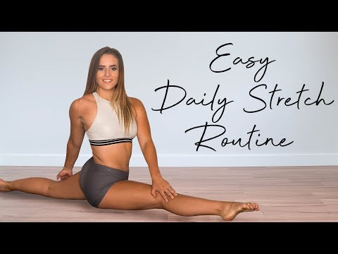 My Daily Stretch Routine for Total Body Flexibility, Follow Along Stretches with Nico, At Home Fit