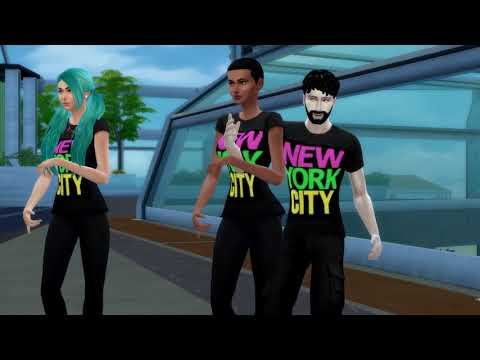 Glee - Empire state of mind (The Sims 4 Version ) (Jay-Z e Alicia Keys)