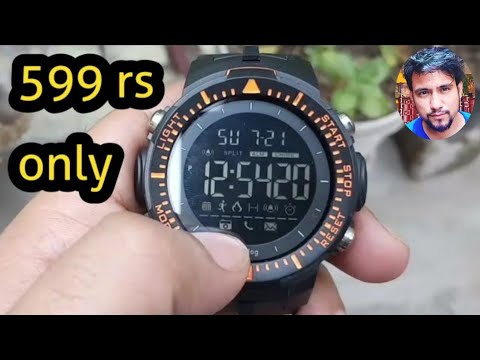 Digilog Digital Watch Unboxing And Review 2019, Best Budget Digital Watch With Big Dial
