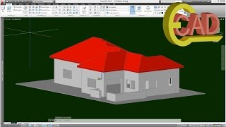 3d House Modeling In Autocad