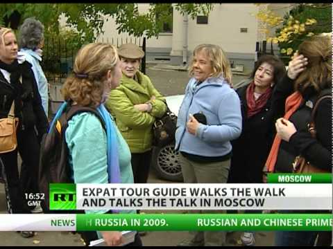 Expat tour guide falls under Moscow's spell
