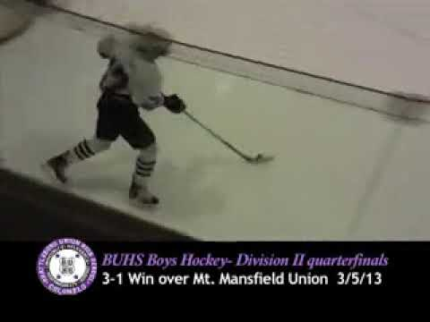 BUHS Boys vs MMU 3/5/13