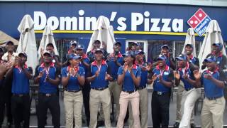 DOMINO'S PIZZA NIGERIA TEAM NO1 CHEERS!