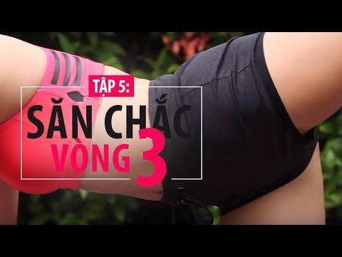 [Khỏe đẹp mỗi ngày] Tập 5 - Bài tập giúp săn chắc vòng ba | Hana Giang Anh