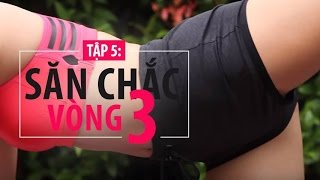 [HIIT SERIES] Ngày 5 - Bài tập NÂNG MÔNG | Hana Giang Anh