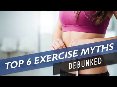 Top 6 Weight Loss Exercise Myths DEBUNKED