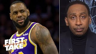LeBron is lying about not being bothered by lazy defense comments – Stephen A. | First Take