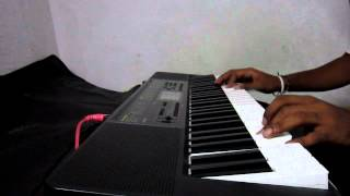tujhe bula diya  hindi song on keyboard