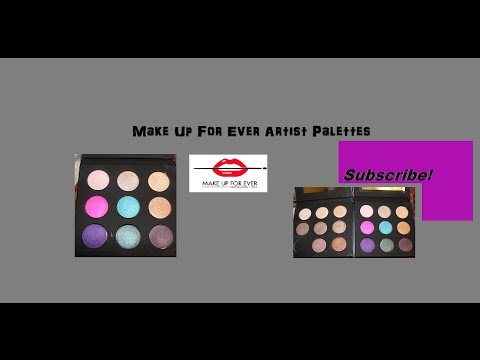 REVIEW|Makeup Forever Artist Palette 1 & 2