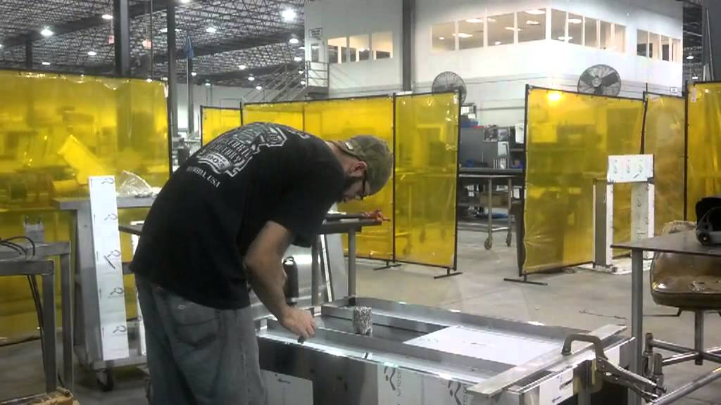 Building Welding A Stainless Cabinet Youtube