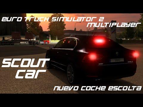NEW Scout Car - Euro Truck Simulator 2 MULTIPLAYER
