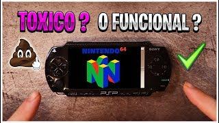 """¿Merece la pena la nueva versión de daedalusX64 1.1.8 """"N64"""" para PSP?"""
