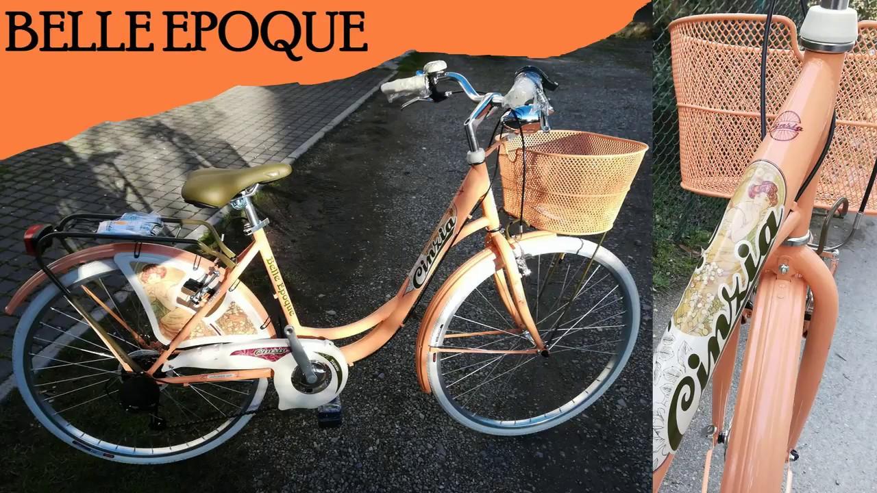 Bici Pieghevole Cicli Cinzia.Citybike Belle Epoque Cicli Cinzia Youtube